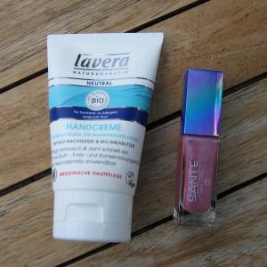 Sponsor - IMG_1696_Z_ Lavera Handcreme Neutral + Nagellack Sante No 014 Shiny Pink