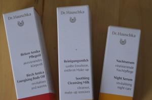 Kosmetik Dr Hauschka - Birken Arnika Pflegeöl Reinigungsmilch Nachtserum _peppermintpopcorn